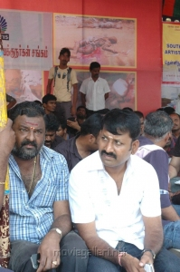PL Thenappan at Directors Union Fasting for Tamil Eelam Photos