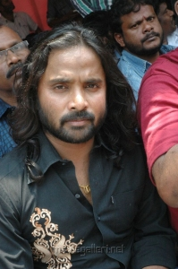 Snehan at Directors Union Fasting for Tamil Eelam Photos