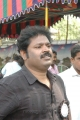 Gauthaman at Directors Union Fasting for Tamil Eelam Photos