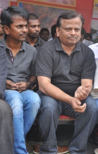 Murgadoss, KV Anand at Directors Union Fasting for Tamil Eelam Photos