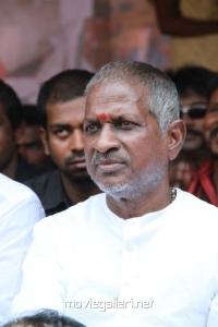 Ilayaraja at Directors Union Fasting for Tamil Eelam Photos