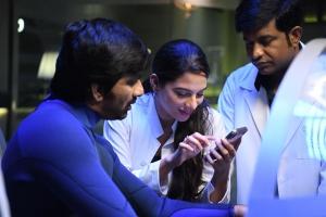 Ravi Teja, Tanya Hope, Vennela Kishore in Disco Raja Movie Photos HD