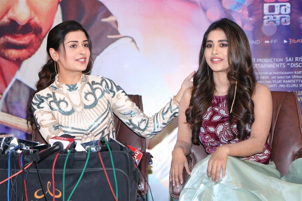 Payal Rajput, Nabha Natesh @ Disco Raja Movie Press Meet Stills