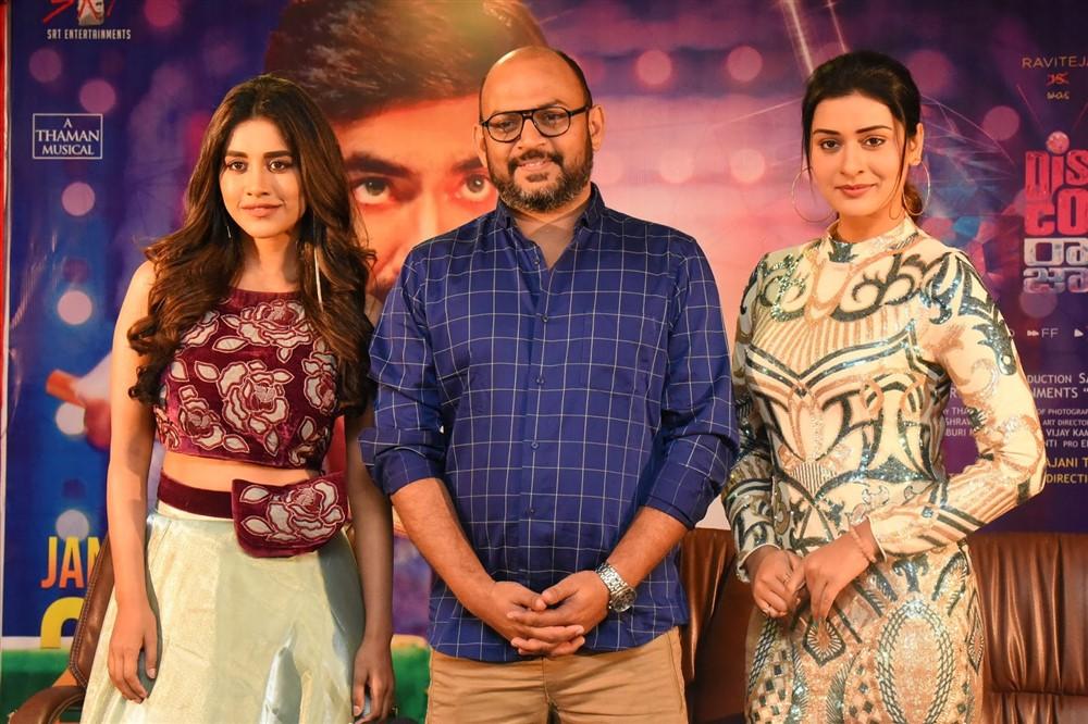 Nabha Natesh, VI Anand, Payal Rajput @Disco Raja Movie Press Meet Stills
