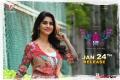 Actress Nabha Natesh in Disco Raja Movie Release Posters