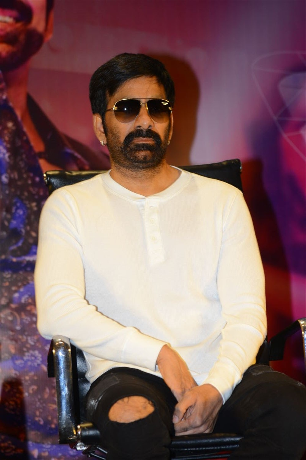 Ravi Teja @ Disco Raja Movie Success Meet Stills