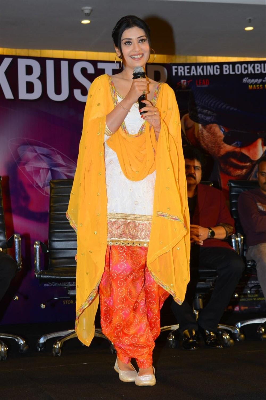 Payal Rajput @ Disco Raja Movie Success Meet Stills