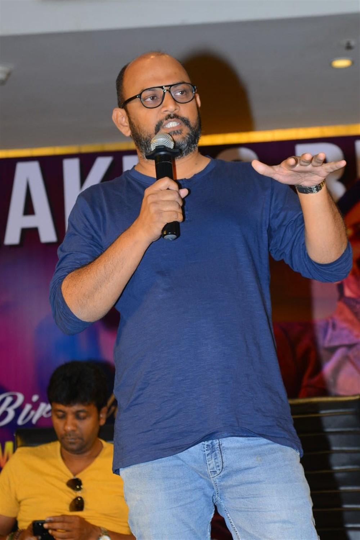 VI Anand @ Disco Raja Movie Success Meet Stills