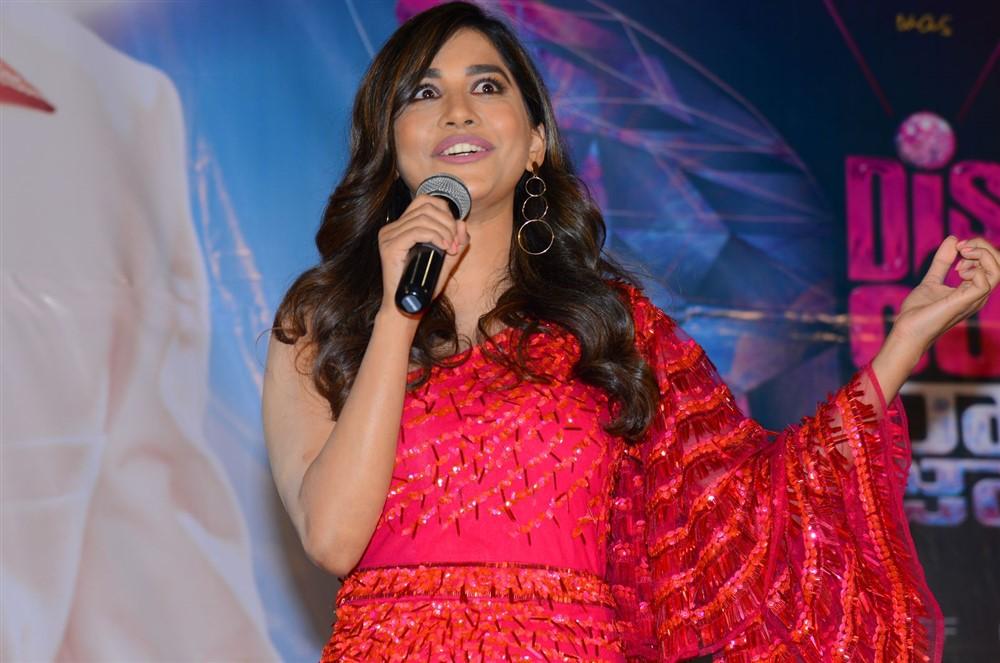 Nabha Natesh @ Disco Raja Movie Rum Pum Bum Song Launch Stills
