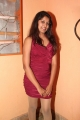Actress Disha Hot Photoshoot Stills in Red Dress