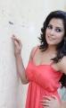 Disha Pandey Hot Photo Shoot Pics in Light Red Dress