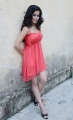 Disha Pandey New Hot Photoshoot in Light Red Dress