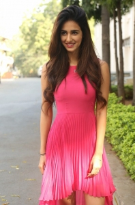 Telugu Actress Disha Patani Stills @ Loafer Success Meet
