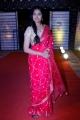 Actress Divi Vadthya Pink Saree Photos