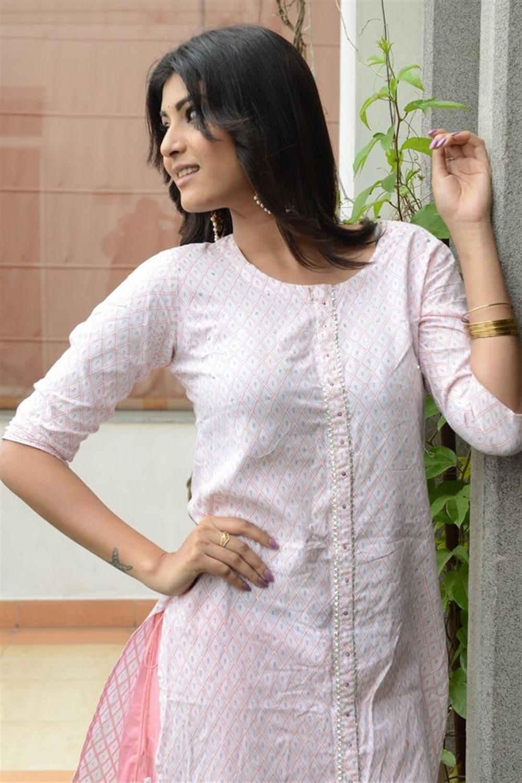 Actress Divya Rao Pictures @ Degree College Success Meet
