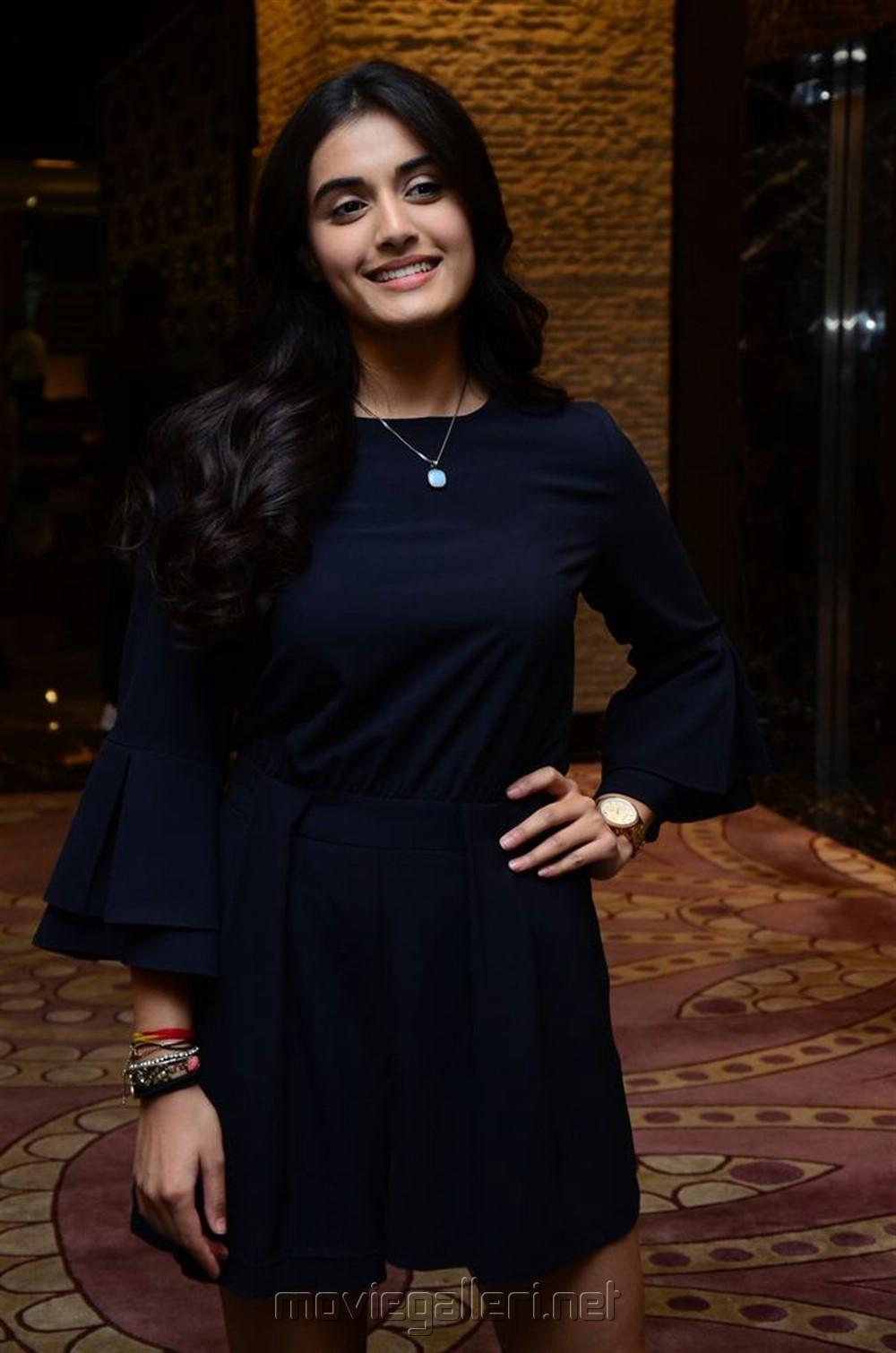 Actress Divyansha Kaushik Images @ Majili Success Meet