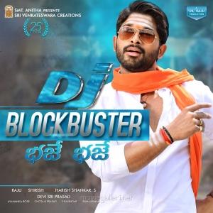 Allu Arjun's DJ Movie Blockbuster Posters