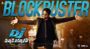 Allu Arjun's DJ Duvvada Jagannadham Blockbuster Posters