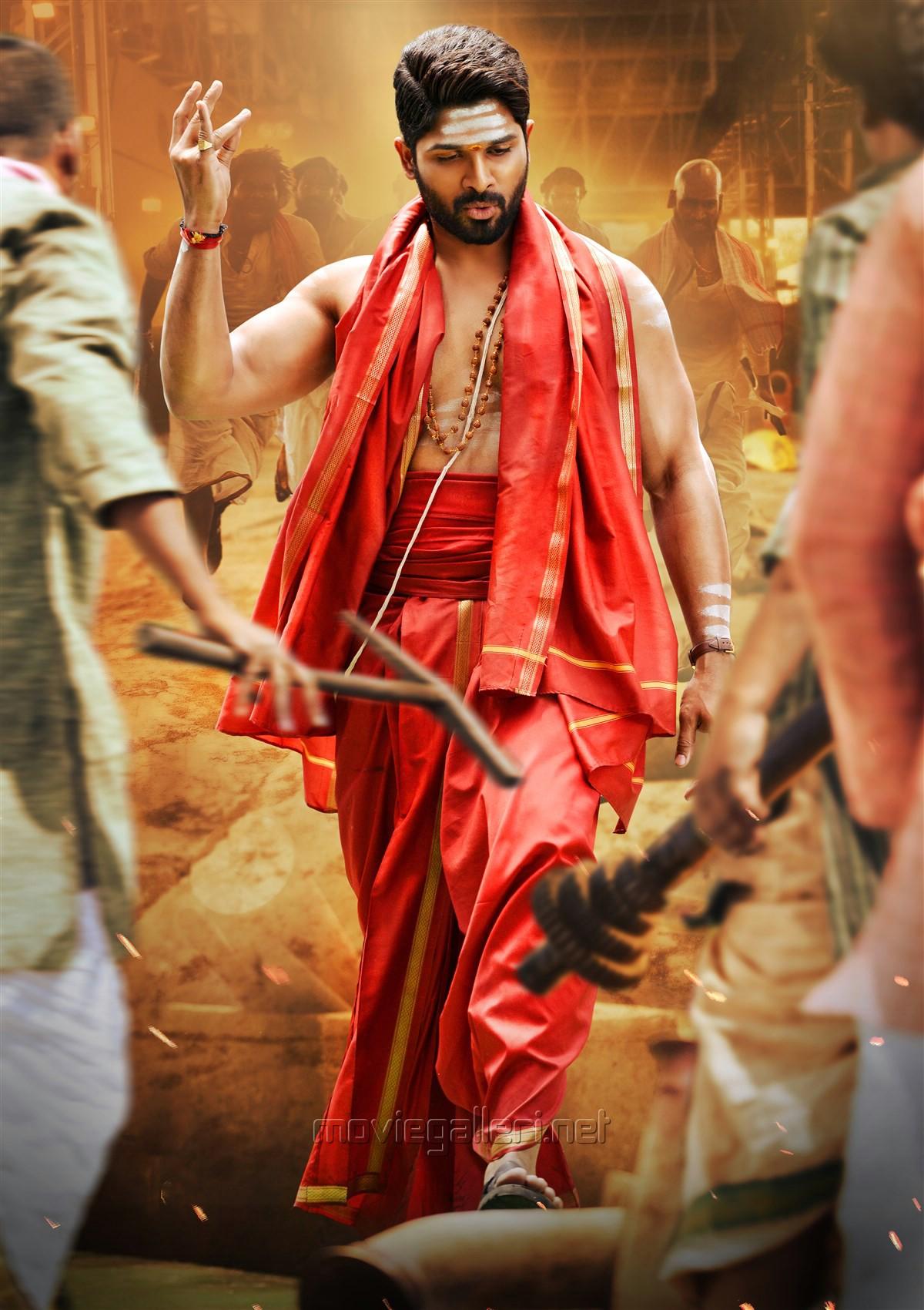 Actor Allu Arjun in Duvvada Jagannadham HD Stills