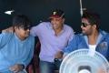Harish Shankar, Dil Raju, Allu Arjun @ DJ Movie Working stills