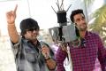 Harish Shankar @ DJ Movie Working stills