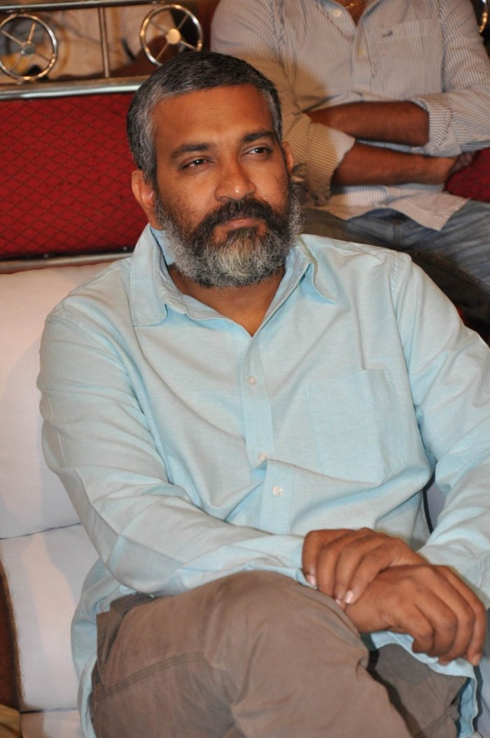 SS Rajamouli @ Dohchay Movie Audio Launch Stills