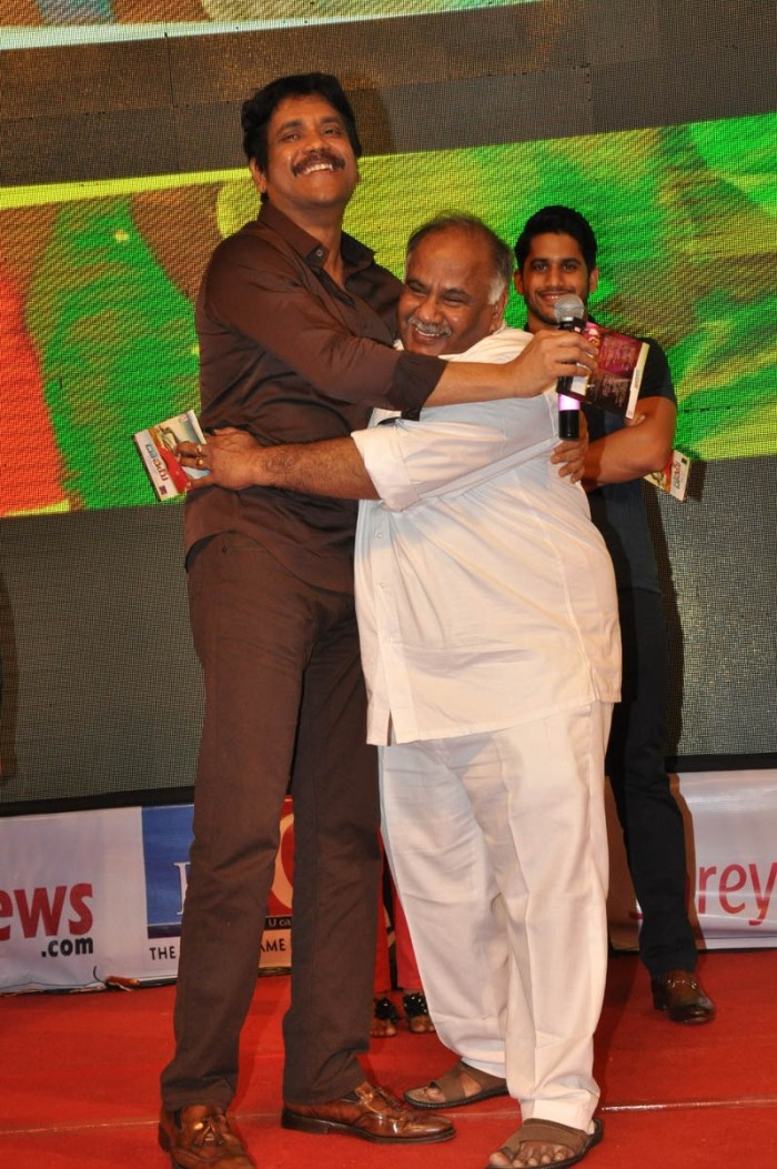 Nagarjuna, BVSN Prasad @ Dohchay Movie Audio Launch Stills