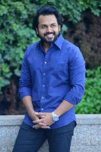 Hero Karthi Photos @ Donga Movie Interview