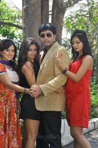 Seethal Sidge, Kavitha, Jai Akash, Khushi Mukherjee at Donga Prema Movie Opening Stills