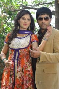 Kavitha, Jai Akash at Donga Prema Movie Opening Stills