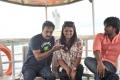 Srinivas, Tashu Kaushik, Raj Kandukuri at Doola Seenu Movie Location