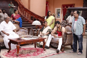 Kota Srinivasa Rao, Brahmanandam in Doosukeltha Movie Latest Stills