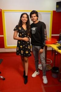 Shivathmika, Anand Deverakonda @ Dorasaani 2nd Song Launch Radio Mirchi Photos