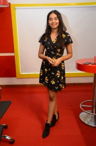 Shivathmika Rajasekhar @ Dorasaani 2nd Song Launch Radio Mirchi Photos