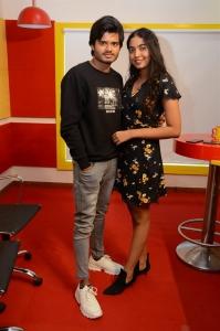 Anand Deverakonda, Shivathmika @ Dorasaani 2nd Song Launch Radio Mirchi Photos