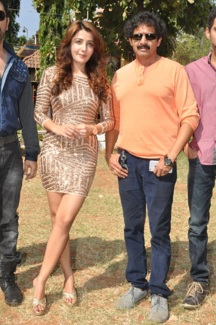 Sonia Mann, Sekhar Suri @ Dr Chakravarthy Movie Opening Stills