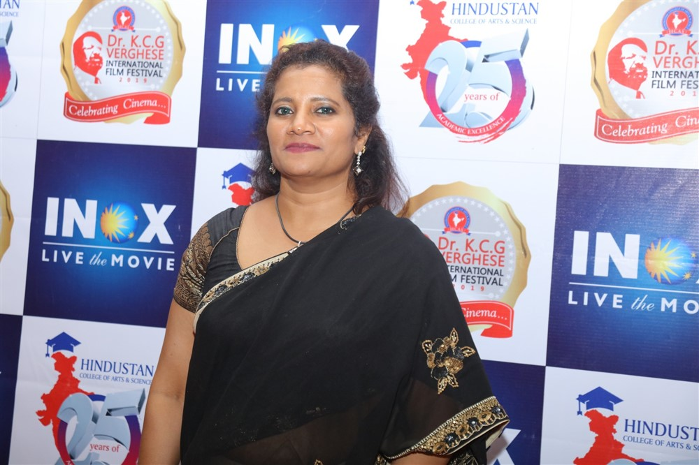 Dr Susan Marthandan @ Dr KCG Verghese International Film Festival Day 2 Photos