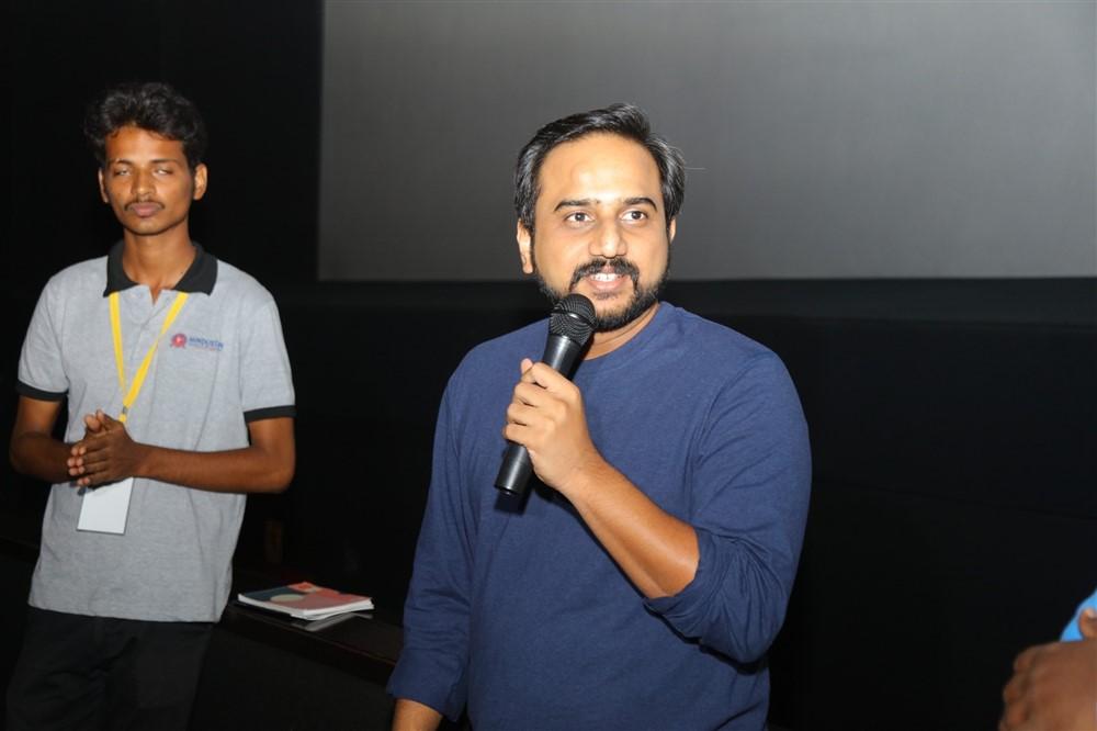 RS Prasanna @ Dr KCG Verghese International Film Festival Day 2 Photos