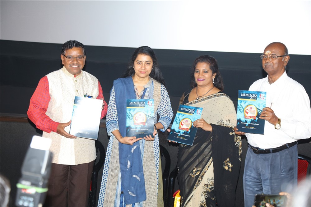 Dr. S. Thirumagan, Suhasini, Susan Marthandan @ Dr KCG Verghese International Film Festival Day 2 Photos