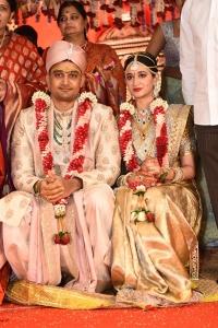 Dr Rajasekhar Nephew Karthik Deepthi Sai Wedding Photos