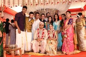 Dr Rajasekhar Nephew Karthik Wedding Photos