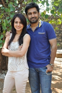 Aksha Pardasany, Vijay Antony @ Dr.Saleem Movie Team Press Meet Stills