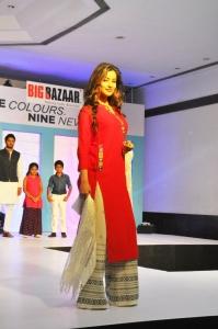 Madhurima Banerjee @ Dusshera Collection by Big Bazaar Glittering Fashion Show
