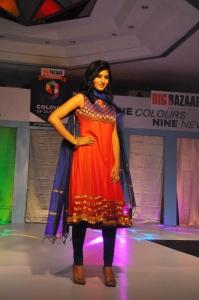 Shamili Sounderajan @ Dusshera Collection by Big Bazaar Glittering Fashion Show