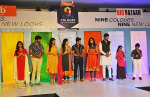 9 celebrities launch Dasara collection by Big Bazaar through a glittering fashion show