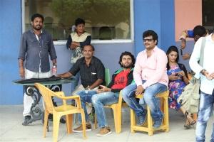 Vijay Devarakonda, Pooja Jhaveri @ Dwaraka Movie Working Stills
