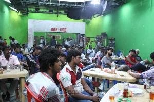 Dwayne Bravo @ Ula Movie Shooting Spot Stills