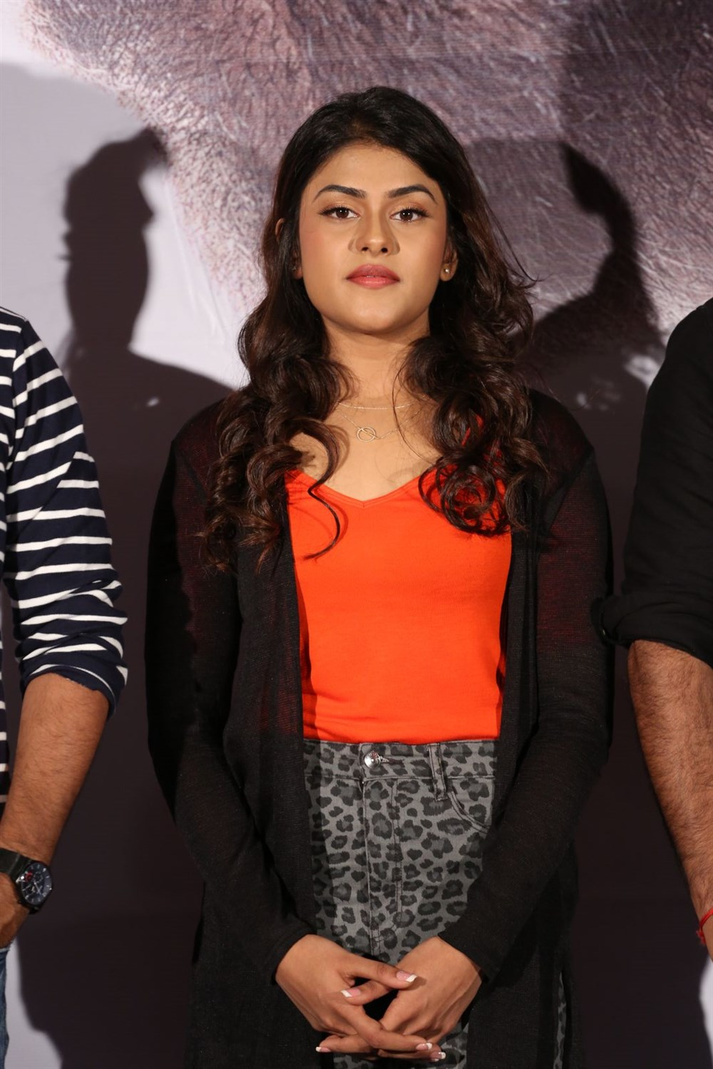 Naira Shah @ E Ee Movie Trailer Launch Photos