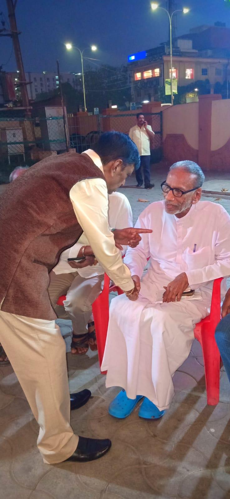 Pazha Nedumaran @ Director E Ramdoss Son Marriage Stills