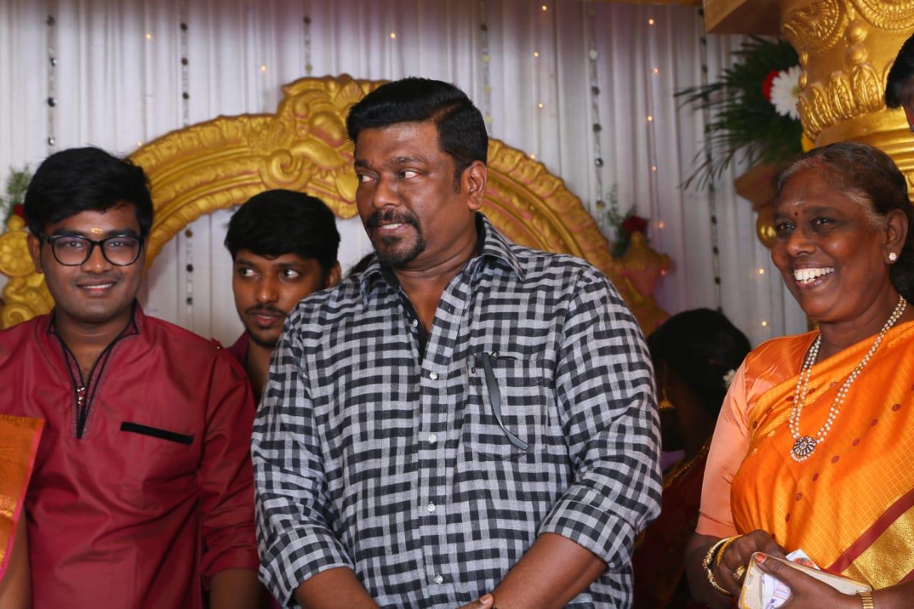 R Parthiban @ Director E Ramdoss Son Marriage Stills